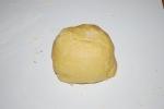 Butterplätzchen-petits sablés au beurre-la pâte