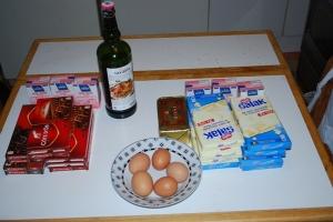 Truffes au chocolat-ingrédients