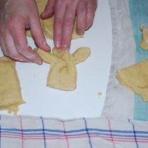 tresse de pâte