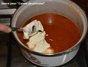 sauce pour cuisse de porcelet